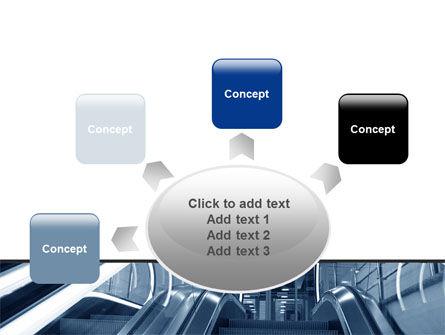 Escalator PowerPoint Template Slide 7