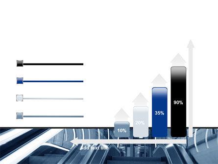 Escalator PowerPoint Template Slide 8