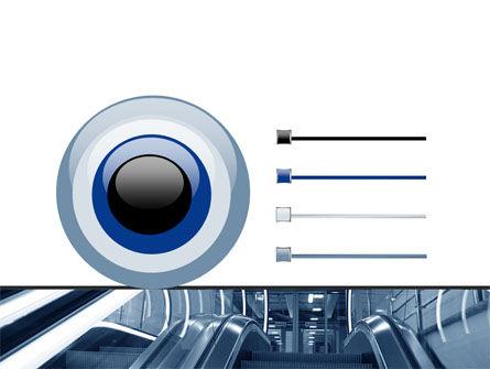 Escalator PowerPoint Template Slide 9
