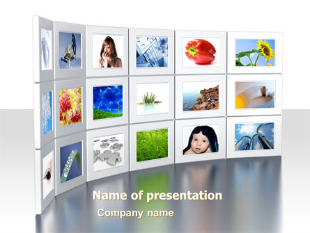 Careers/Industry: Stock Images PowerPoint Template #06970