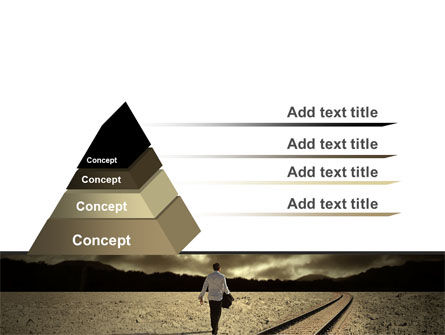 Life Path PowerPoint Template, Slide 4, 06971, Business Concepts — PoweredTemplate.com