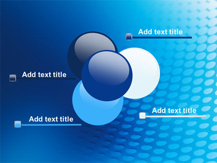 Blue Grid Background PowerPoint Template Slide 10
