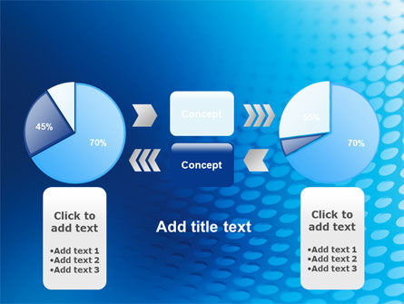 Blue Grid Background PowerPoint Template Slide 11