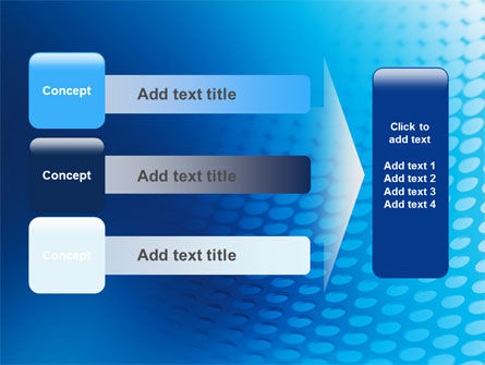 Blue Grid Background PowerPoint Template Slide 12