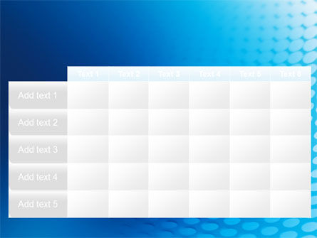 Blue Grid Background PowerPoint Template Slide 15
