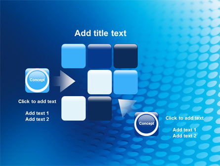 Blue Grid Background PowerPoint Template Slide 16