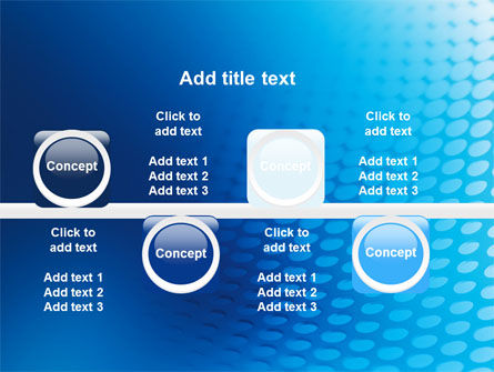 Blue Grid Background PowerPoint Template Slide 19