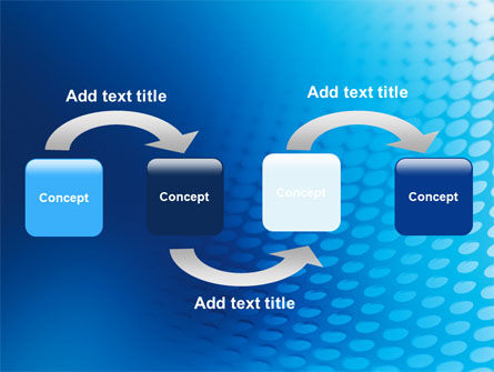 Blue Grid Background PowerPoint Template Slide 4