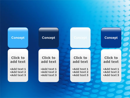 Blue Grid Background PowerPoint Template Slide 5