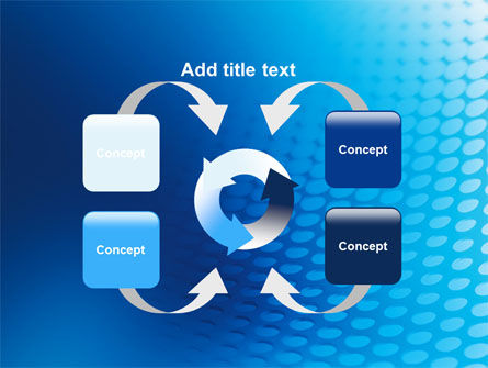 Blue Grid Background PowerPoint Template Slide 6