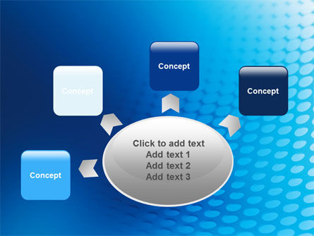 Blue Grid Background PowerPoint Template Slide 7