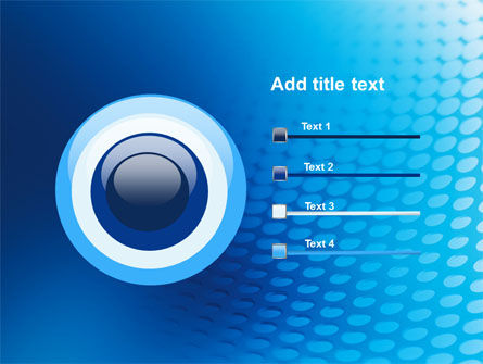 Blue Grid Background PowerPoint Template Slide 9