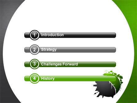 Urbanization PowerPoint Template, Slide 3, 06976, Nature & Environment — PoweredTemplate.com