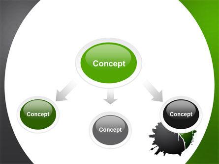 Urbanization PowerPoint Template, Slide 4, 06976, Nature & Environment — PoweredTemplate.com