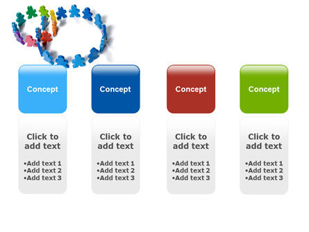 Figure Eight PowerPoint Template Slide 5