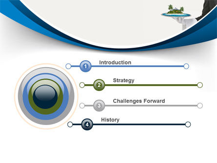 Atoll PowerPoint Template, Slide 3, 06979, Health and Recreation — PoweredTemplate.com