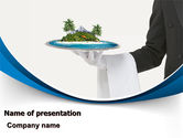 Health and Recreation: Atoll PowerPoint Template #06979