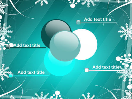 Winter Frame Background PowerPoint Template Slide 10