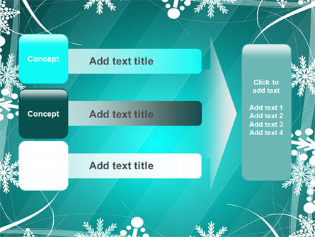 Winter Frame Background PowerPoint Template Slide 12