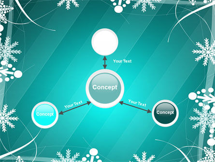 Winter Frame Background PowerPoint Template Slide 14