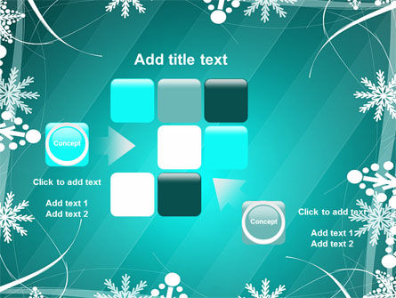 Winter Frame Background PowerPoint Template Slide 16