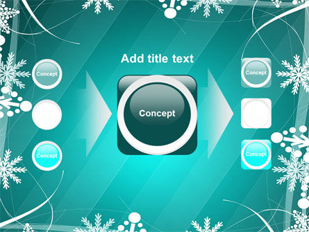 Winter Frame Background PowerPoint Template Slide 17