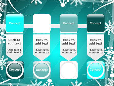 Winter Frame Background PowerPoint Template Slide 18