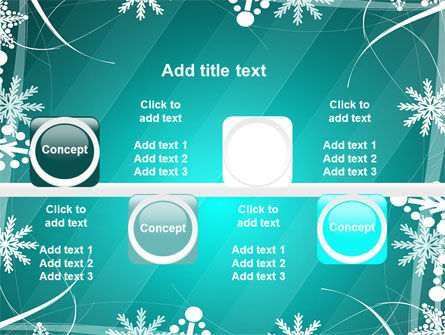 Winter Frame Background PowerPoint Template Slide 19