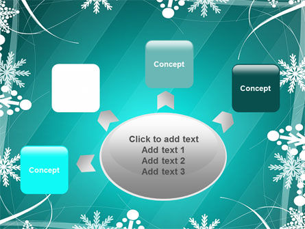 Winter Frame Background PowerPoint Template Slide 7