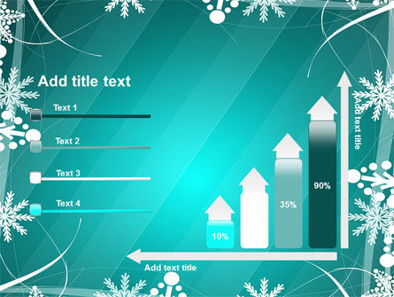 Winter Frame Background PowerPoint Template Slide 8