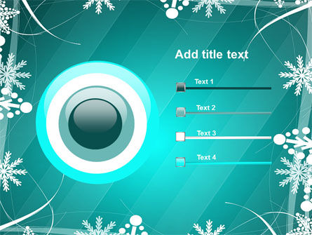 Winter Frame Background PowerPoint Template Slide 9