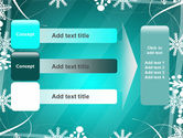 Winter Frame Background PowerPoint Template#12