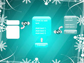 Winter Frame Background PowerPoint Template#13
