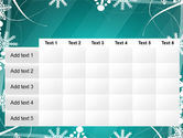 Winter Frame Background PowerPoint Template#15