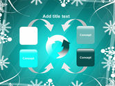 Winter Frame Background PowerPoint Template#6