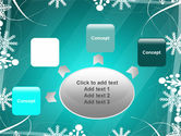 Winter Frame Background PowerPoint Template#7