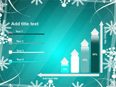 Winter Frame Background PowerPoint Template#8