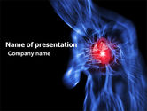 Medical: Heart Catadrome PowerPoint Template #06982