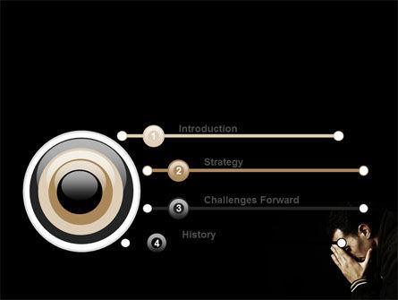 Distress PowerPoint Template, Slide 3, 06983, People — PoweredTemplate.com
