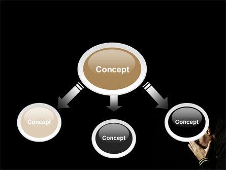 Distress PowerPoint Template, Slide 4, 06983, People — PoweredTemplate.com