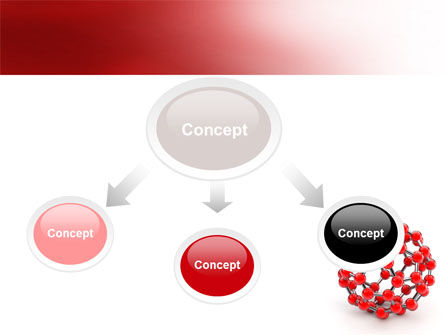 Molecular Structure Of Fullerene PowerPoint Template, Slide 4, 06985, Technology and Science — PoweredTemplate.com
