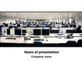 Careers/Industry: IT Office Space PowerPoint Template #06986