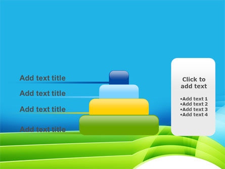 Blue and Green PowerPoint Template Slide 8
