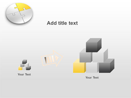 Round Puzzle PowerPoint Template Slide 13