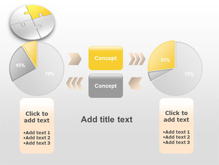 Round Puzzle PowerPoint Template Slide 16