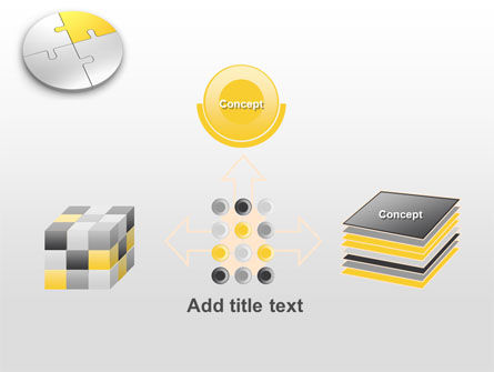 Round Puzzle PowerPoint Template Slide 19