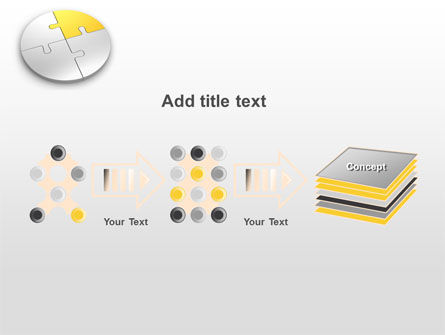 Round Puzzle PowerPoint Template Slide 9