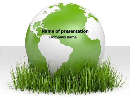 Global: Growing World PowerPoint Template #06989