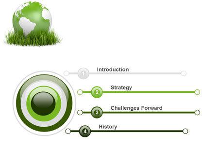 Growing World PowerPoint Template, Slide 3, 06989, Global — PoweredTemplate.com