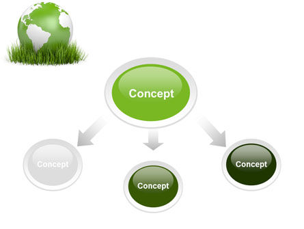 Growing World PowerPoint Template Slide 4